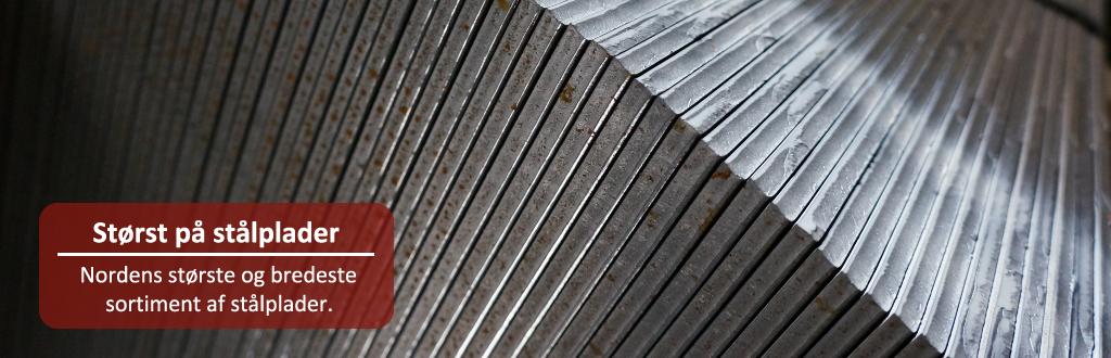 Størst på stålplader